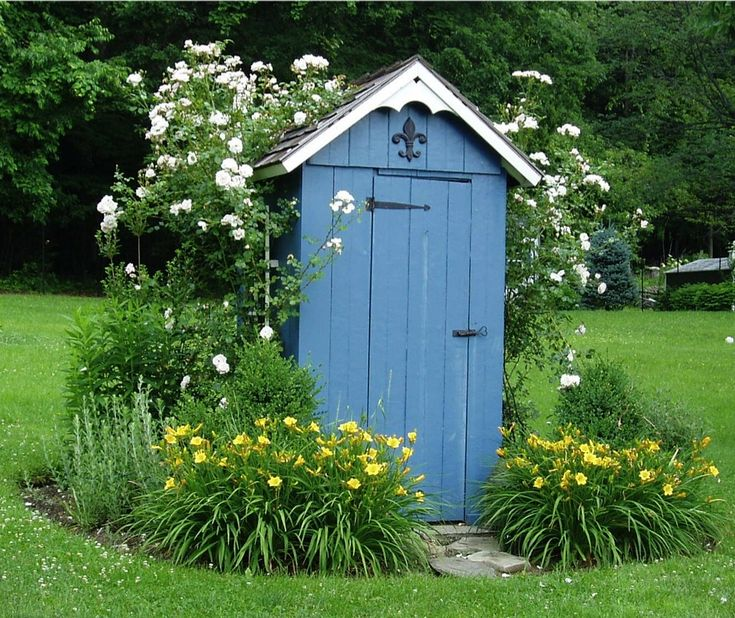 1000 Images About Outhouses Plain Fancy On Pinterest