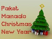 Paket Manado Christmas New Year. Plan the Christmas and New Year holidays to Bunaken Island, Lake Tondano, Kampung China Manado, etc. Price Starting from Rp. 1.525.000. Contact Ezytravel at +61 21 231 6306 For more information and reservation.