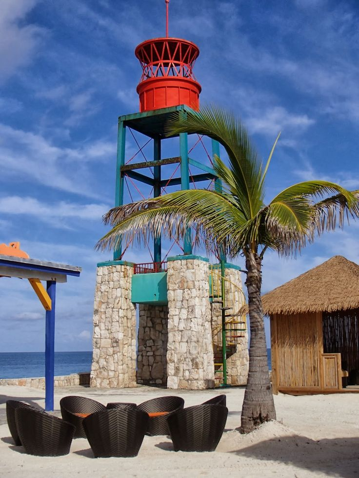 Coco Cay #Lighthouse is located on one of the small islands and cays that make……
