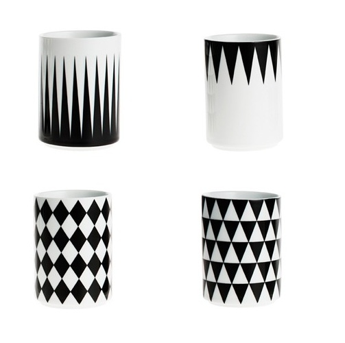 NEW! Ferm Living Geometry Cups