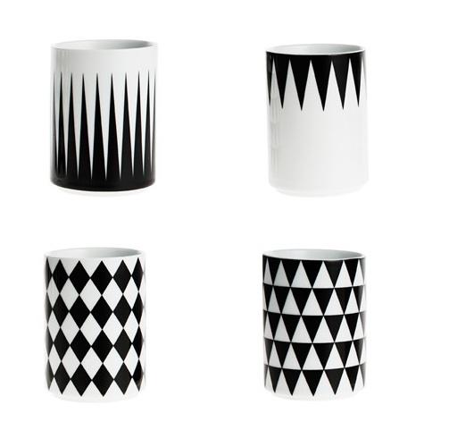 NEW! Ferm Living Geometry Cups