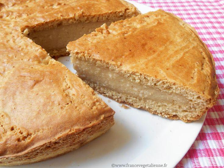 Gâteau basque (végétalien, vegan)