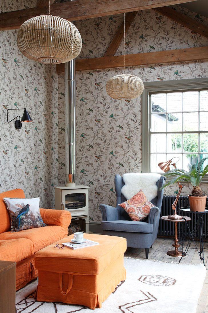 Old farmhouse with wonderful decor in England | PUFIK. Beautiful Interiors. Online Magazine
