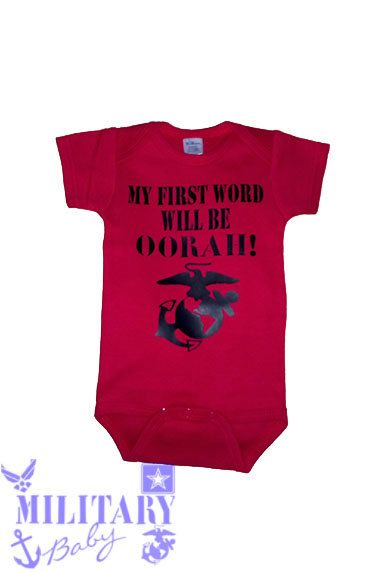 Customizable Military Baby Clothing by MilitaryBaby2013 on Etsy, $15.00 nhttps://www.etsy.com/listing/162879857/customizable-military-baby-clothing?ref=shop_home_active