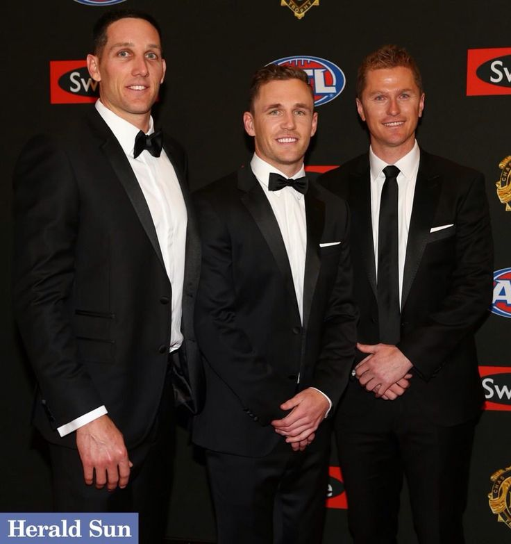 Looking sharp at the Brownlow Boys. 2014