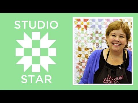 Don't Be Intimidated By The Little Pieces, This Studio Star Quilt Is So Easy! – Crafty House