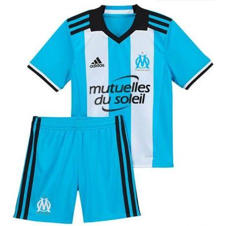 Camisetas del Olympique De Marseille para Niños Third 2016 2017