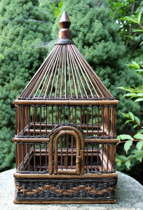 Hey, I found this really awesome Etsy listing at http://www.etsy.com/listing/159111060/vintage-birdcage-30-tall-14-long-14-wide