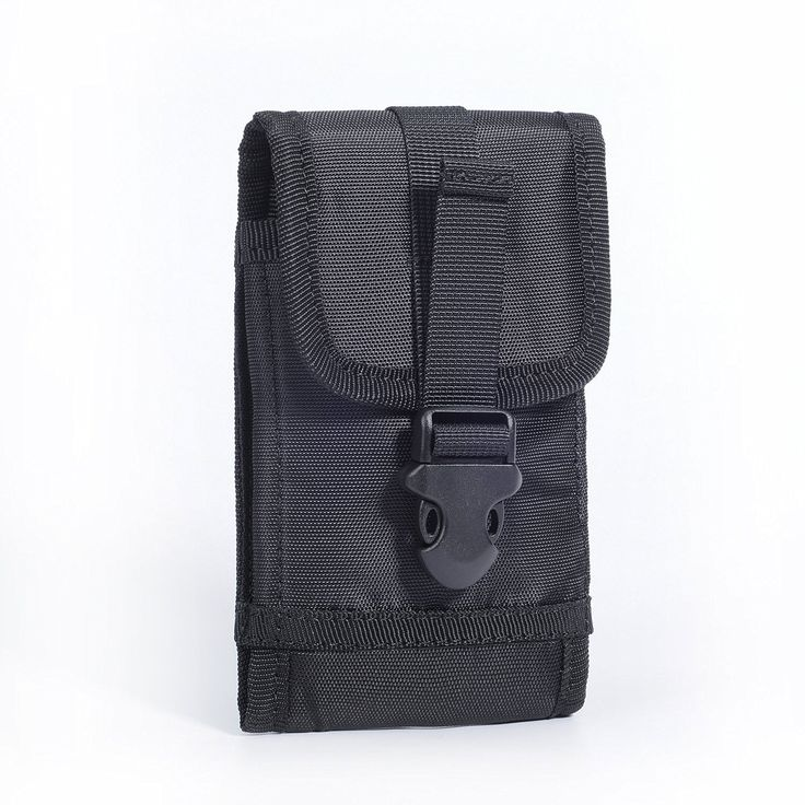 Hengying Premium Nylon Tactical Smartphone Holster Molle Belt Clip Pouch Bag…