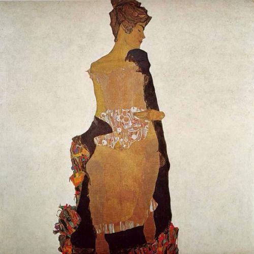 Portrait of Gerti Schiele | Egon Schiele