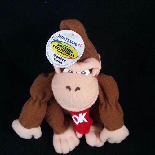 Donkey Kong Plush #Nintendo #N64 #DonkeyKong #Nerdy