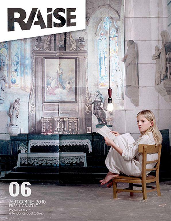Cover  Raise Magazine  Issue #6
