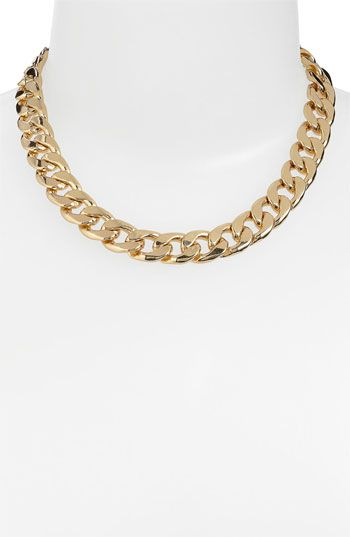 Stephan & Co. Thick Chain Necklace available at #Nordstrom