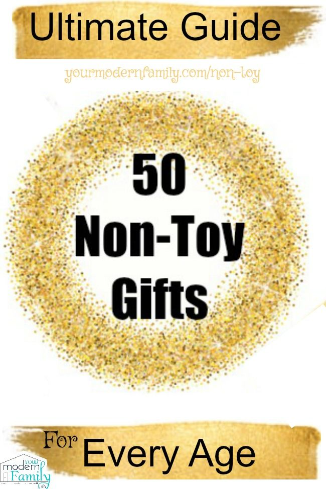 "{The Ultimate List) 50 Non-Toy Gifts for every age   I love this so much!  Getting rid of the ""stuff"" to give things that really matter.  via @BeckyMans"