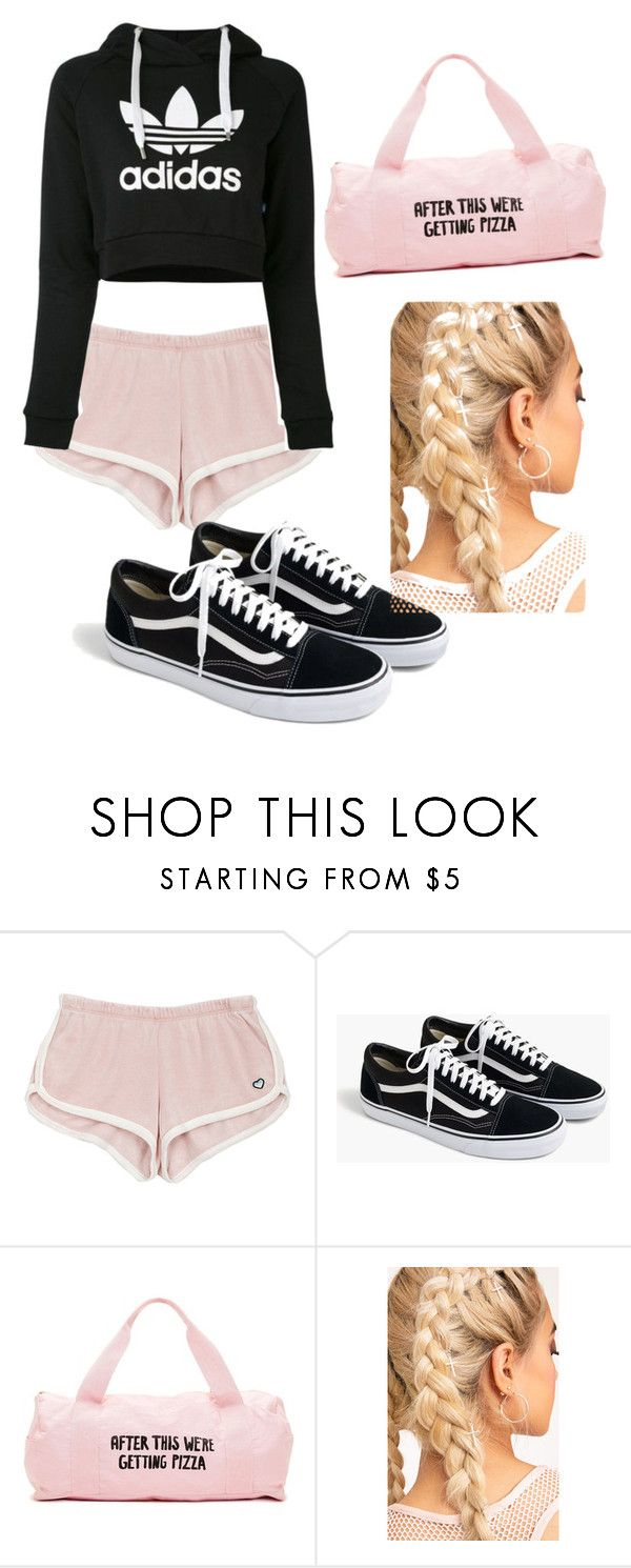 """""""No momento do desporto"""" by love1662002 on Polyvore featuring adidas and J.Crew"""