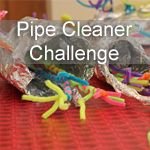 Your kids love this simple team pipe cleaner challenge. It is a great way to build team work and create something unique and fun.
