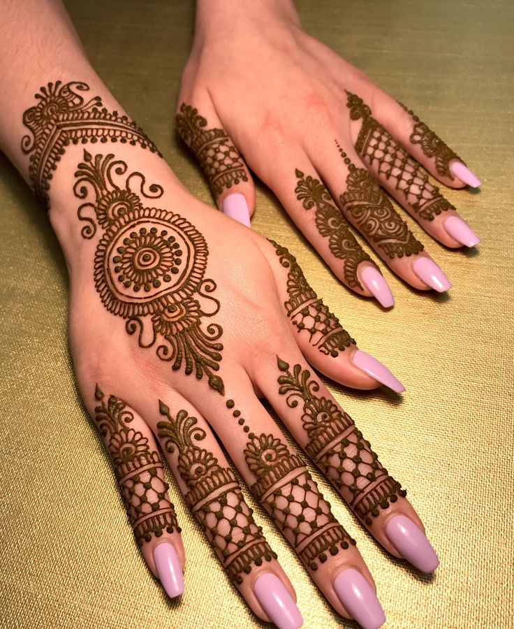 Lovely Henna Designs That Are Easy To Repeat: 15 Most Beautiful New Mehndi Designs For Girls 2018-2019