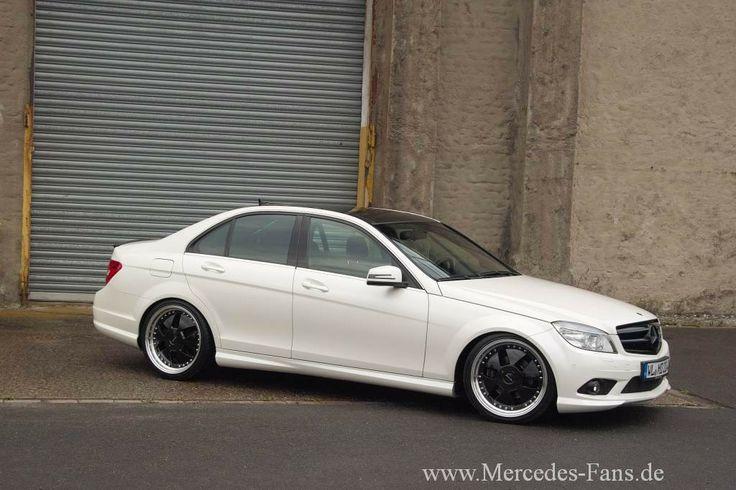 Die weiße Pracht: Mercedes C250 CDI