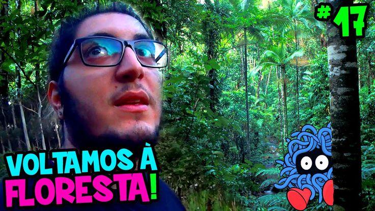 POKÉMON GO #17 - VOLTAMOS À FLORESTA ASSOMBRADA E ACABAMOS FUGINDO !