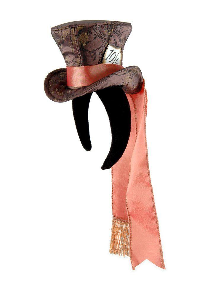 Alice In Wonderland Madhatter Mini Top Hat