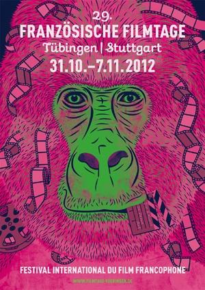 Französische Filmtage 31/10 - 07/11/2012  Festival du film francophone à Tübingen - Stuttgart