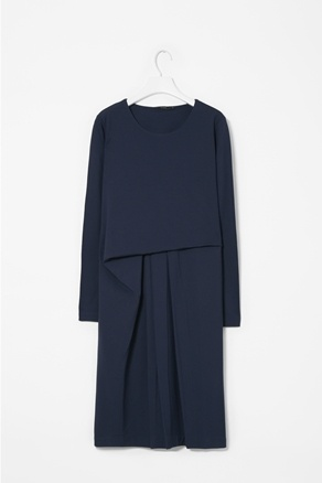 Draped front dress -cos