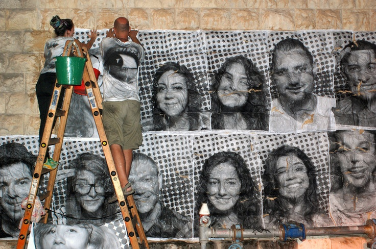 INSIDE OUT is a large-scale participatory art project that transforms messages of personal identity into pieces of artistic work. Upload a portrait. Receive a poster. Paste it for the world to see.  www.insideoutproject.net…