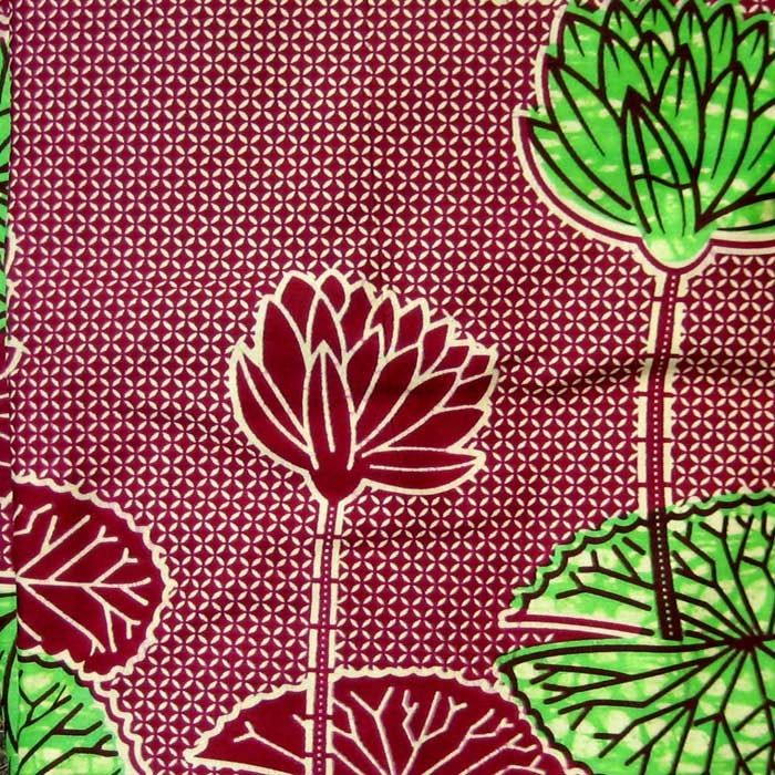 Fun, Funky African Wax Print Fabric- For dining room chairs