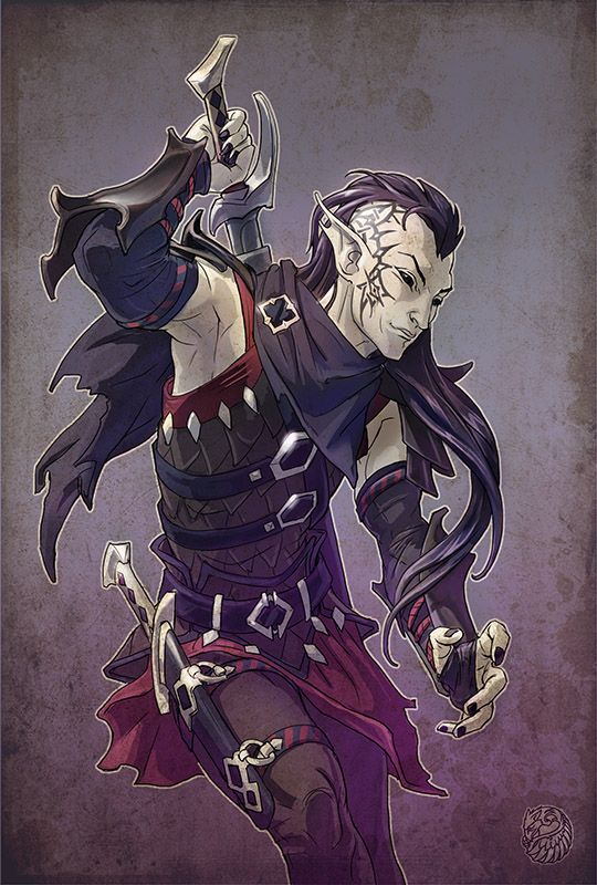 Black elf ninja by gugu-troll on deviantART