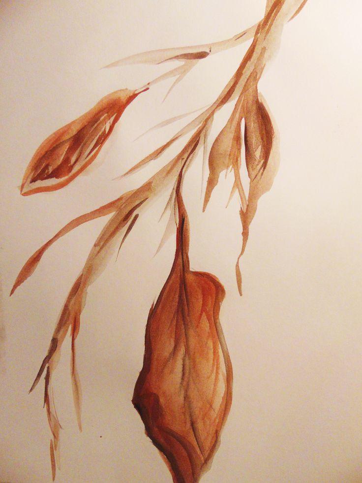 Jesienne liście - Anna Ewa Cisak