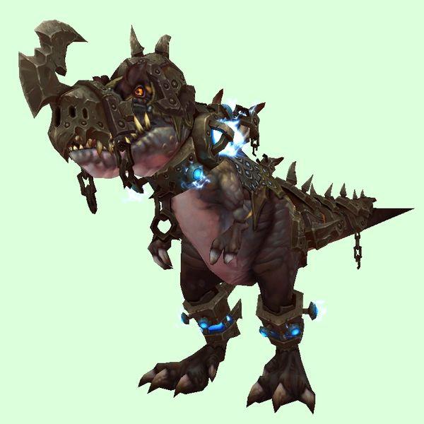 BlackArmored Black Horde Devilsaur. Thok the Bloodthirsty