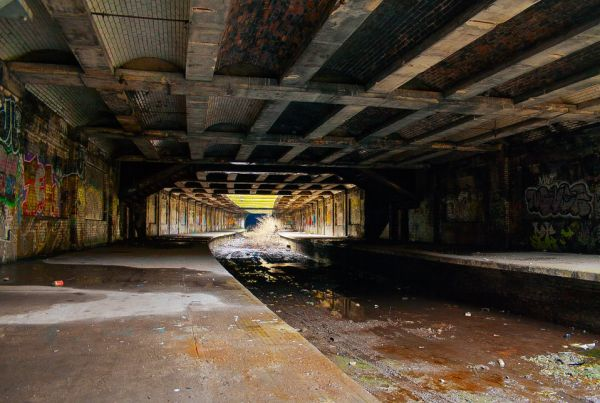 The world's 15 most beautiful abandoned  subway stations!