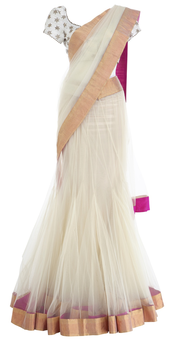Wow lehnga - this is EXACTLY what i want for K's wedding. now i just need to find a tailor who'll stitch it for me.