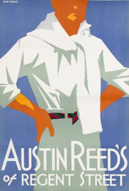 Art for beach house By Tom Purvis (1888-1959), ca 1926, Austin Reed's of Regent Street. (British)