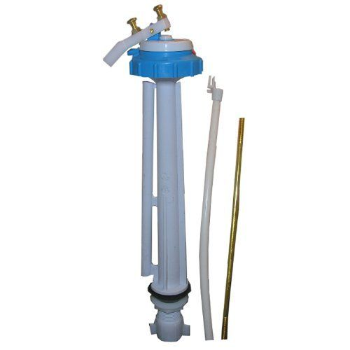 Lasco 04-4033 Toilet Ballcock with Anti-Syphon Plastic 10-Inch Fill Valve with Float Rod, Refill Tube and Nut by Lasco. $10.36. From the Manufacturer                Lasco 04-4033 toilet ballcock anti-syphon plastic 10-Inch fill valve with float rod, refill tube and nut. Plastic 10-Inch fill valve with float rod, refill tube and nut.                                    Product Description                Toilet Closet Bolt Bowl To Floor Kit, Secures Toilet Bowl To Floor Fla...