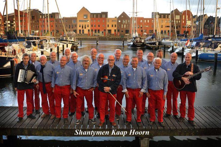 Shantymen Kaap Hoorn, treden weer op op het Shantyfestival.