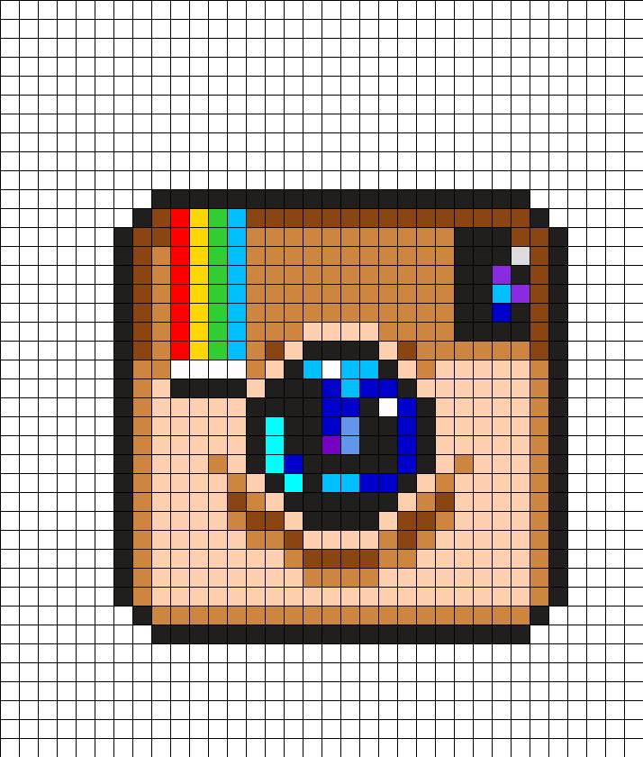 Instagram Logo Perler Bead Pattern