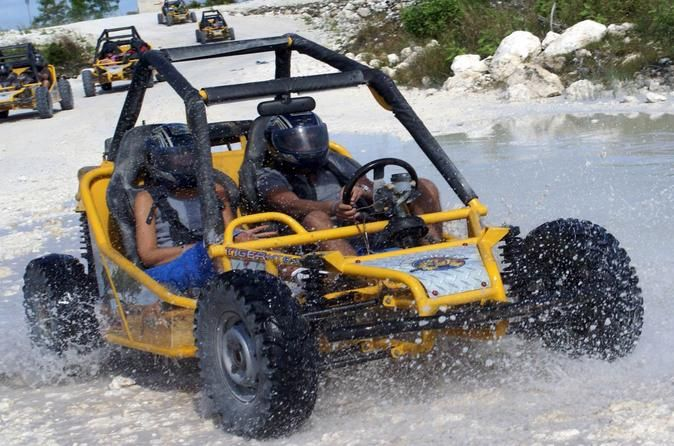 Punta Cana Buggy Adventure to Macao Beach with Cave Swim