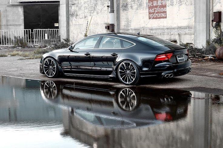 Visit The MACHINE Shop Café... ❤ Best of Audi @ MACHINE... ❤ (Wald International A7 Sportback)