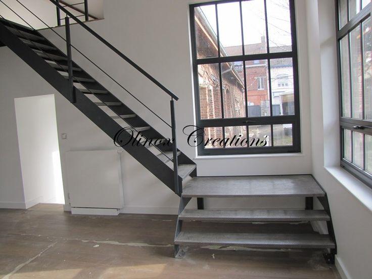 1000 id es sur le th me escalier quart tournant sur. Black Bedroom Furniture Sets. Home Design Ideas