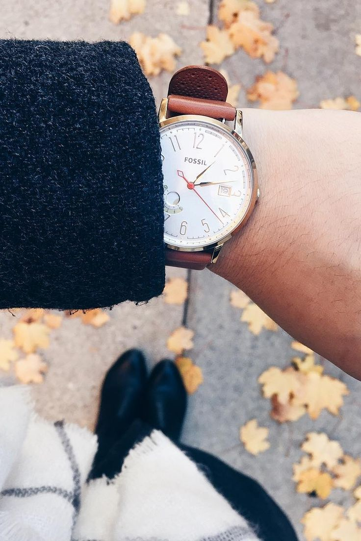The Vintage Muse boyfriend watch is on the top of our gift list. via @ gracefuls
