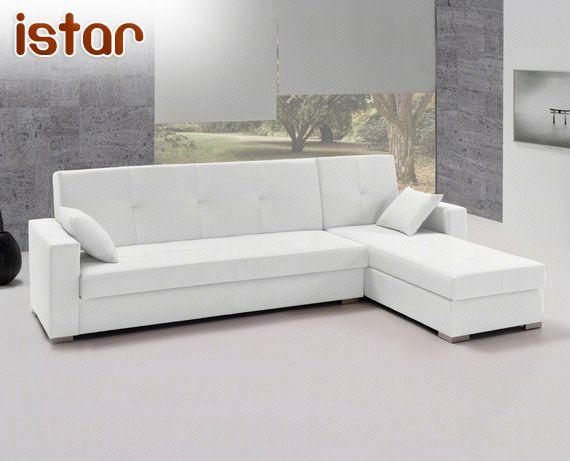 Sofá cama de ecopiel Istar de HOME