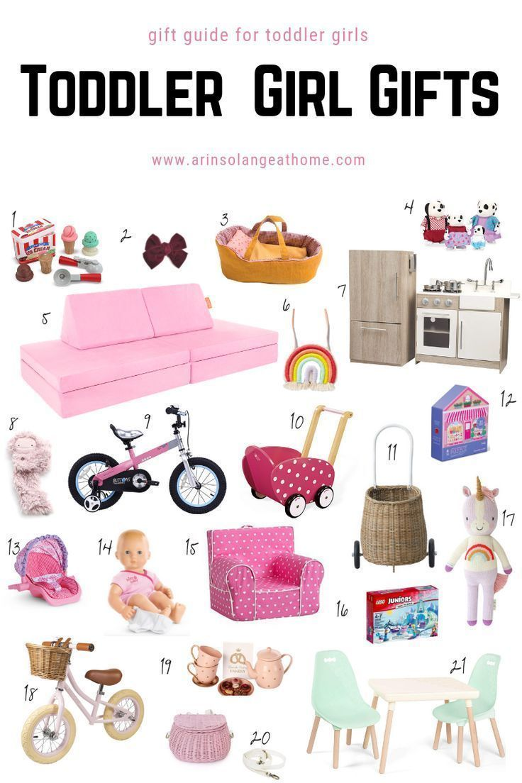 Best Toddler Girl Gift Ideas Toddler girl gifts, Toddler