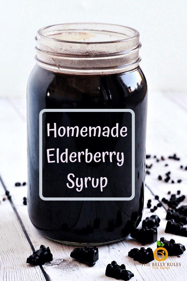 Homemade instant pot elderberry syrup recipe