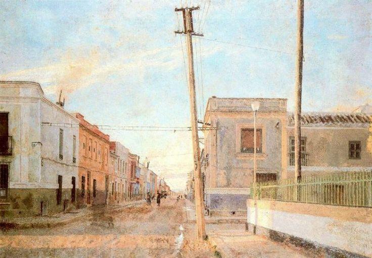 Calle de Santa Rita (1961) Antonio López García