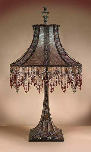 1000 Images About Antique Lamp Shades On Pinterest