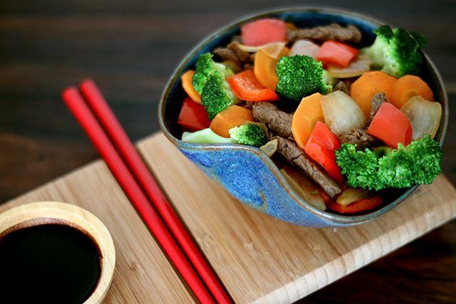 Receita: Salteado de Legumes e Carne (prato leve e rápido)