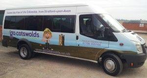 The Go Cotswolds minibus