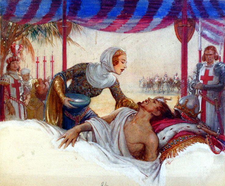 Eleanore of Castile by John Millar Watt.