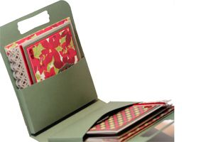 Splitcoaststampers - Tutorials - card pouch: Cards Ideas, Tutorials Cards, Cards Pouch, Gifts Ideas, Scs Cards, Cards Holders, Holidays Cards, Pouch Tutorials, Note Cards